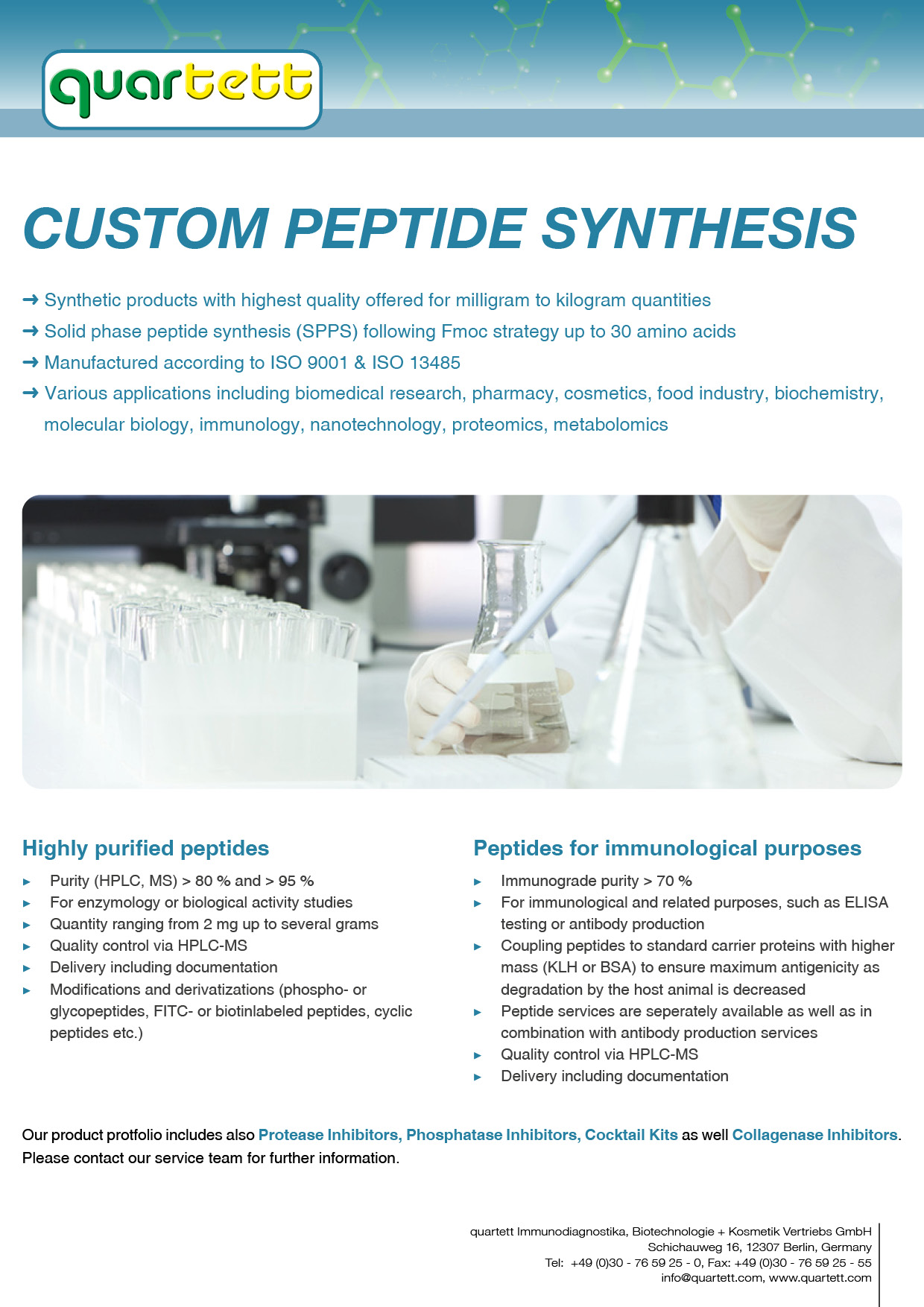 Custom Peptide Synthesis (English)