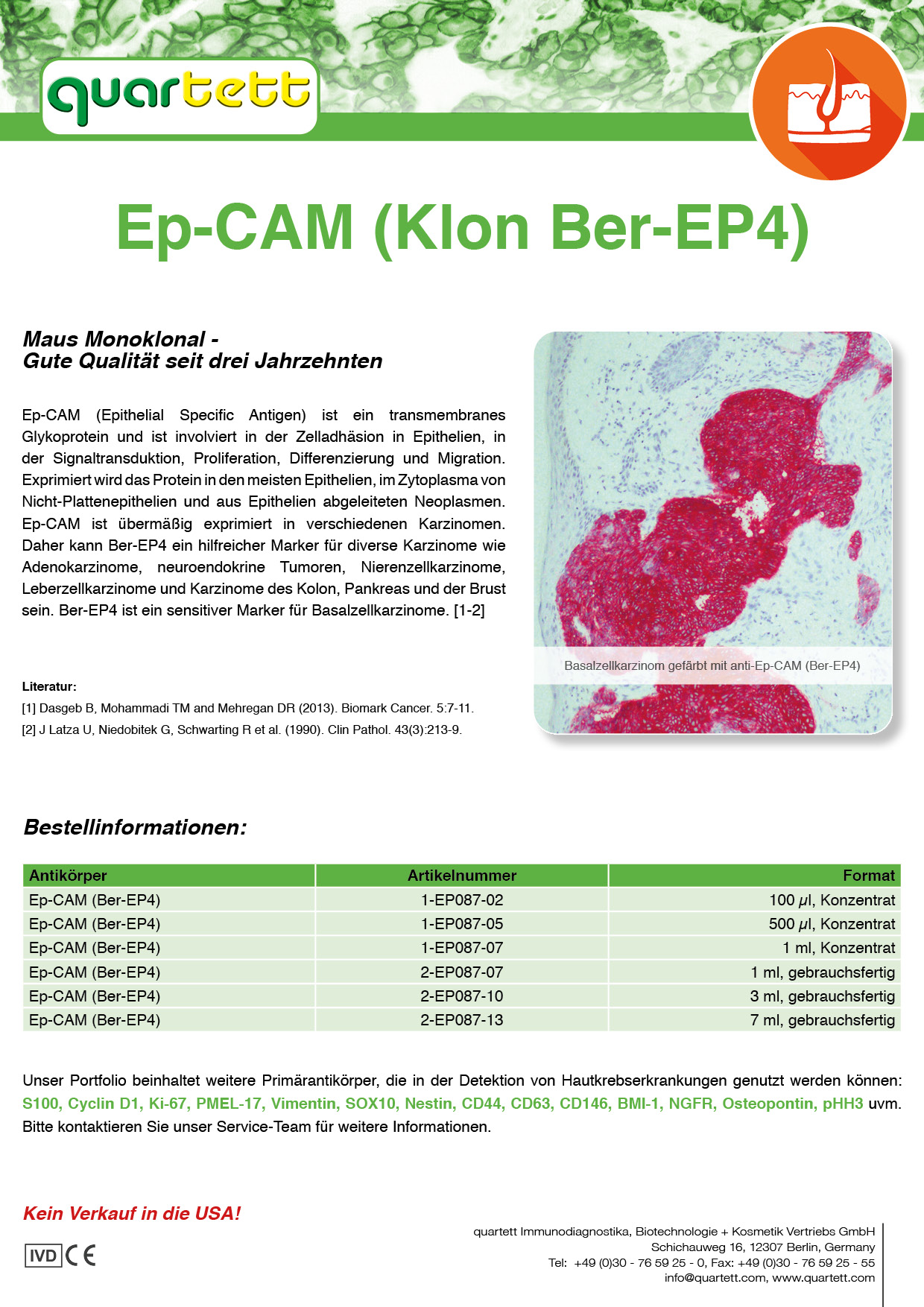 EpCAM (BerEp4) -EP087- (Deutsch & English)