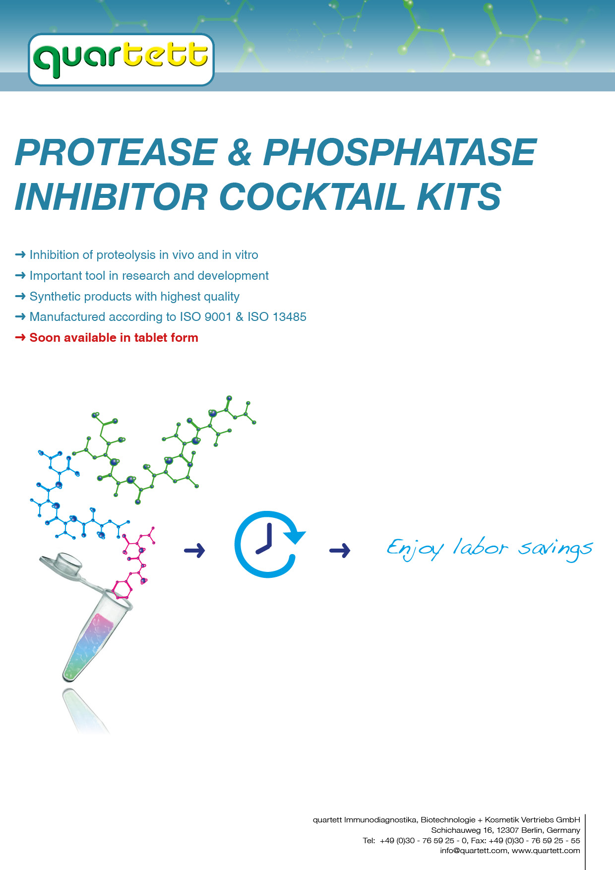 Protease & Phosphatase Inhibitor Cocktail Kits (English)