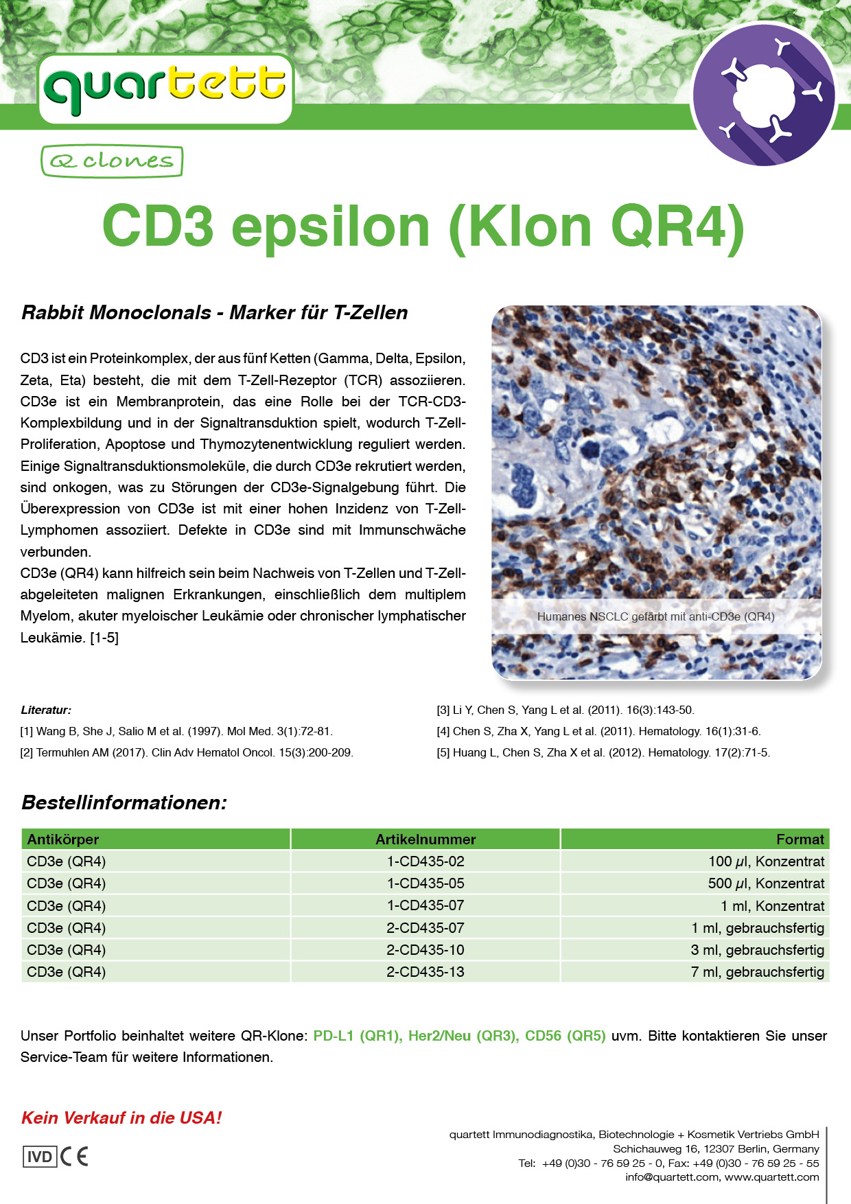 CD3e (QR4) -CD435- (Deutsch & English)